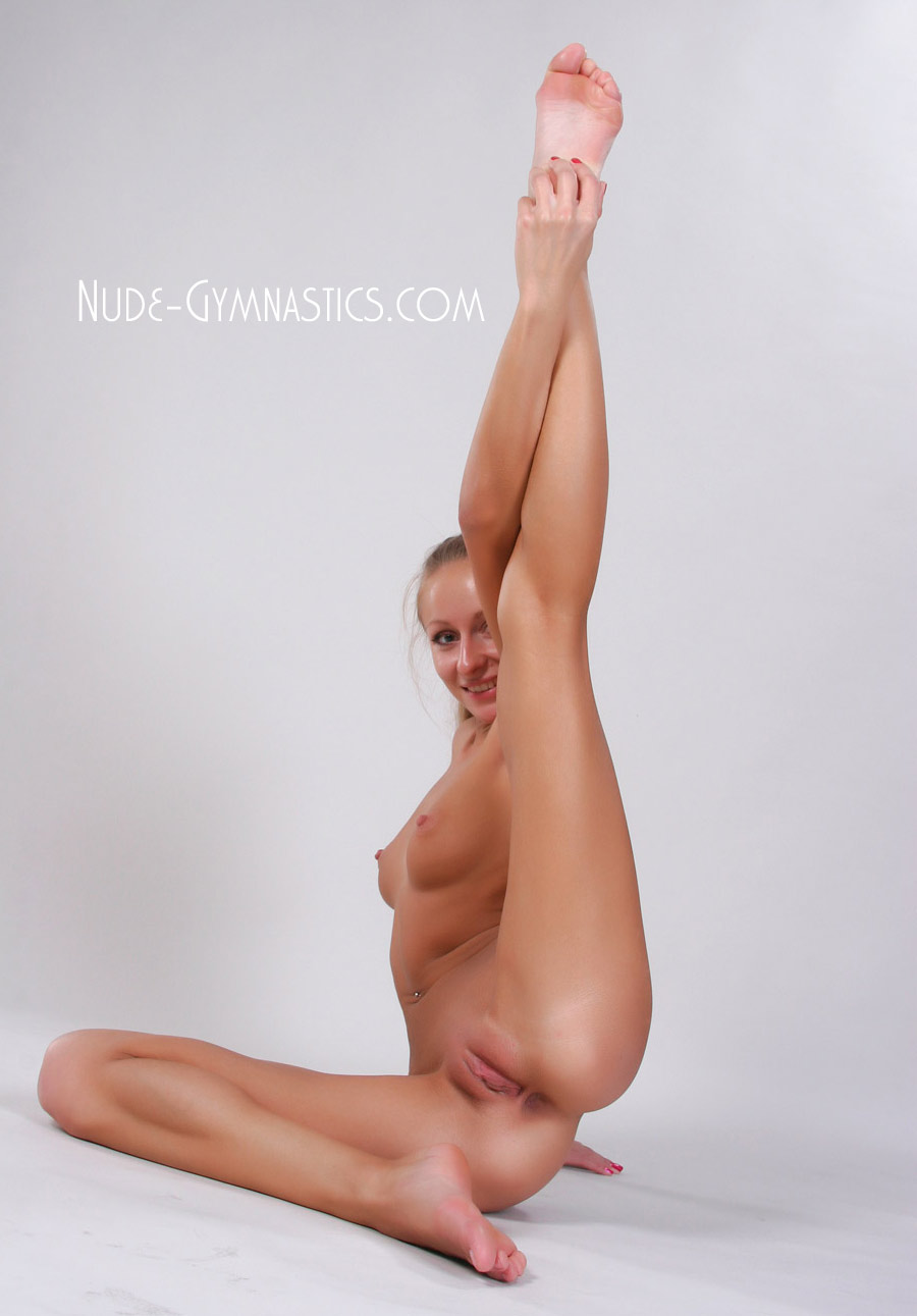 wife relaxing nude